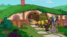 'Los Simpson' viajan a la Tierra Media