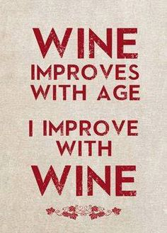 """Ah! The weekend has come and it seems like a great time for some """"self-improvement"""" ;) Have a good one wine lovers!"""