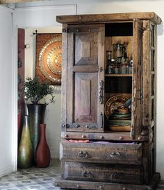 old door armoire 10 feet tall by the rustic gallery of san antonio tx armoire furniture. Black Bedroom Furniture Sets. Home Design Ideas