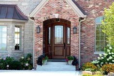 Arched Exterior Doors | Bellagio