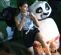 Po from Kung Fu Panda 3 Meets Neha Dhupia and Jacqueline Fernandez: http://www.washingtonbanglaradio.com/content/kung-fu-panda-meets-neha-dhupia-and-jacqueline-fernandez  #po #kungfupanda #kungfupanda3 #NehaDhupia #JacquelineFernandez