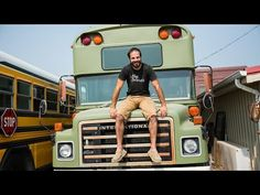 Ride Along: Converted School Bus Homes – Home Makers S1E4 - YouTube