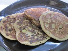 Food for Fuel: Banana Chocolate Chip Chickpea Flour Pancakes
