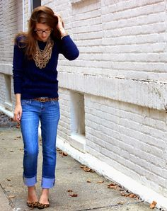 Sprinkles & Sequins: Fall Preview Friday    Leopard + Chunky Knits