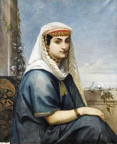 Woman in Albanian costume (Mathilde Bonaparte) Belle Photo, Fantasy, Costumes, Albania, History, Artworks, Images, Painting, Clothes