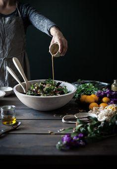 Chopped Chicken Wild Rice Salad Balsamic Lemon Cilantro Dressing - The Kitchen McCabe