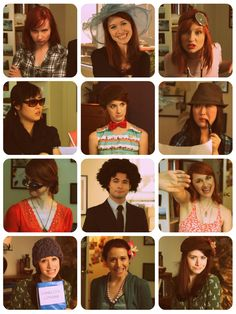 """Costume Theater"" of the Lizzie Bennet Diaries. DARCY WITH THE WIG ALWAYS KILLS ME HAHAHA"