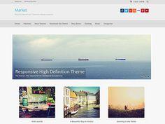 Market WordPress Theme