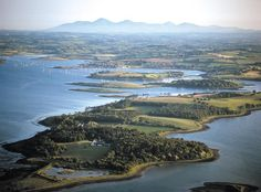 Strangford Lough, looking towards the Mountains of Mourne