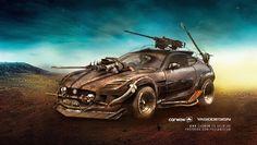 ArtStation - Jaguar F-Off-Type. , Yasid Oozeear