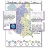 Montessori 123 - Time Zones, Maps and Questions for Exploration - Montessori Materials