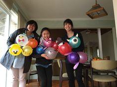 #disney #tsumtsum #babyshower #balloon #decoration