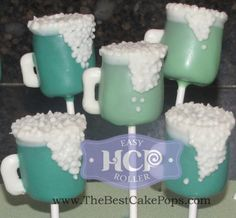 Favorite Cake Pops ~By HCP Easy Roller ~ Green Beer Cake Pops! Take a look at how we roll;)!