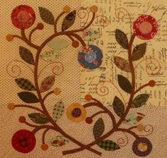 Looking for your next project? You're going to love Rambling Ways Quilt/Lover's Wreath Block by designer Pine Valley.
