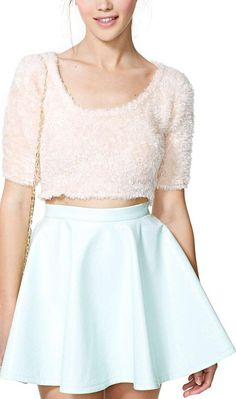 High Shine Skirt