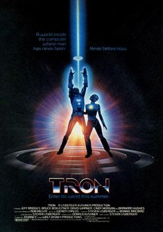 This new Tron: Legacy poster makes me want to see the movie more than ever, if that's even possible. But why am I so sure I've seen it somewhere before? I remember now. Film Science Fiction, Fiction Movies, 80s Movies, Great Movies, Movie Film, 80s Movie Posters, Classic Movie Posters, Movie Poster Art, Classic Movies
