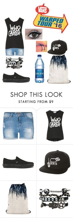 """Warped 2k16"" by explicitlovesong ❤ liked on Polyvore featuring Lipsy, Topshop, Vans and Paco Rabanne"