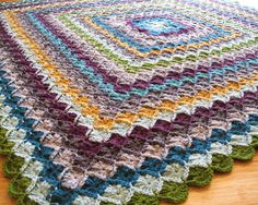 eclectic me: wool eater blanket