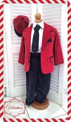 Κόκκινο - Μπλε κουστουμάκι Βελούδο με άσπρο πουκάμισο!!! Blazer, Christmas, Jackets, Fashion, Xmas, Down Jackets, Moda, La Mode, Blazers
