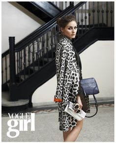 Olivia Palermo For Jill Stuart Accessries in Vogue Girl