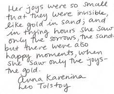 joy [Anna Karenina]
