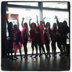 Corso di Burlesque 2014 PALESTRA EVERGREEN CIVITANOVA (MC) per info corsi lavieenrougeeventi@gmail.com