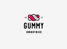 Gummy Industries . Logo . Identity . Brand . Graphic Design . Candies . Sweet .
