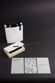 ORIGENS - Jewelry Collection by Carme Balada #carmebalada #packaging #graphicdesign #branding #logo #label #productdesign #jewelry #book -------- ©Corina Saccal, Barcelona 2014.