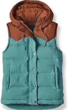 Patagonia Women's Bivy Hooded Down Vest Mogul Blue XS
