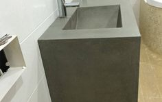 Makers Lane :: His and Hers Concrete Vanity Custom Made, Bespoke Furniture made in Australia.