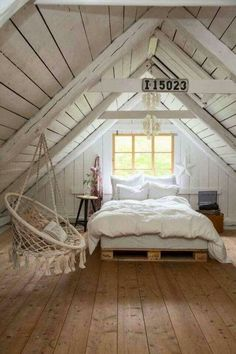 Trendy Home Decored Apartment Bedroom Small Rooms Wood Bedroom, Home Decor Bedroom, Bedroom Ideas, Diy Bedroom, Bedroom Small, Bedroom Rustic, Design Bedroom, Dream Bedroom, Master Bedroom