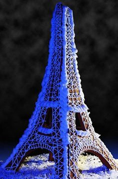 CoolGingerBreadHouses.com: eiffel tower gingerbread house