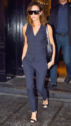fbb80b9639 Victoria Beckham Is Unrecognizable in Her Very First Modeling Picture