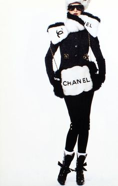 §CHANEL A/W 94 shot by Karl Lagerfled
