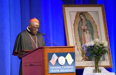 Gender ideology 'denies human nature and wants to cut off entire generations from God,' Cardinal Robert Sarah warned at the National Catholic Prayer Breakfast.