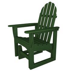 Found it at Wayfair - Adirondack Glider Chair