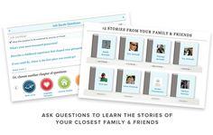 interesting web site concept: family history/story-tellling via social media. more intimate than genealogy? elegantly designed, too.
