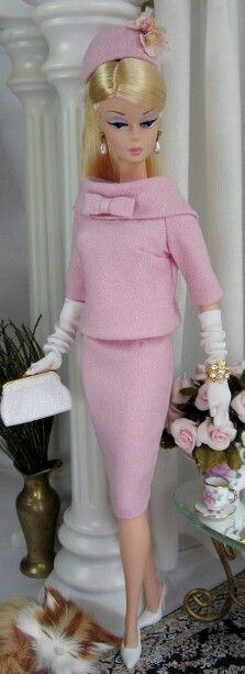 Barbie ha ha looks like a 1 lady 1970s