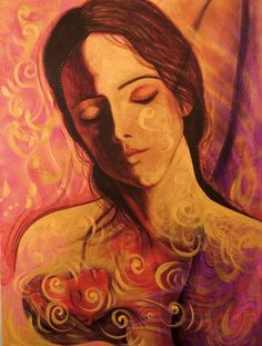 Mary Magdalene by Toni Carmine Salerno Sacred Feminine, Divine Feminine, Mary Magdalene, Feminist Art, Artist Gallery, Blessed Mother, Oracle Cards, Portrait Art, Pretty Pictures