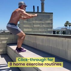 Home Exercise Routines: 8 Popular Workouts You Can Do Anywhere Muscle Fitness, Yoga Fitness, Fitness Tips, Circuit Training, Weight Training, Training Programs, Fun Workouts, At Home Workouts, Home Exercise Routines
