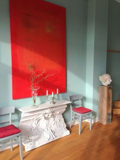 Dieses Esszimmer Wurde In Der Wandfarbe ´Margarete´gestrichen. Die Farbe  Wurde Benannt Nach