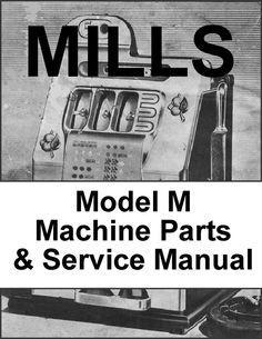 Mills Slot Machine Manuals - 2 on 1 CD!