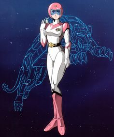 Lion Force Voltron (Voltron of the Far Universe).  Princess Allura.