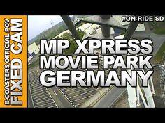 Vidéo embarquée du roller coaster MP Xpress situé dans le parc d'attraction Movie Park Germany en Allemagne. N'hésitez pas à venir découvrir sur notre channel Youtube, nos plus de 200 vidéos On-Ride : http://www.youtube.com/ecoasters !!