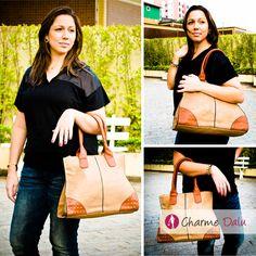 Bora conferir nesse domingão um Look belíssimo?!!! Simmm  Clique aqui: http://blogcharmedalu.com.br/look-do-dia-brinco-de-zirconia-e-bolsa-com-tachinha/