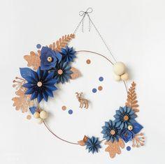 Christmas wreath by OUI OUI OUI studio