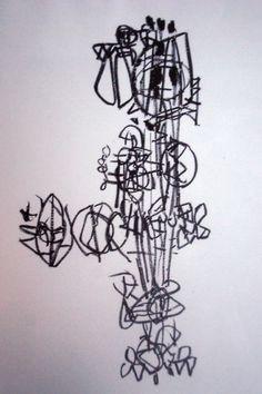 Stuart Sutcliffe's Artwork Stuart Sutcliffe, The Beatles 1960, The Quarrymen, Summer Painting, Music, Artist, Artwork, Musica, Musik