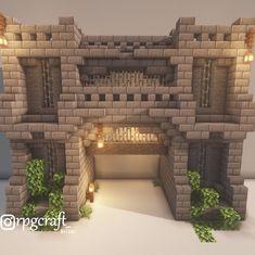 Top Funny Memes About Minecraft & Minecraft Meme Comics Villa Minecraft, Casa Medieval Minecraft, Minecraft Building Guide, Minecraft Structures, Easy Minecraft Houses, Minecraft Plans, Amazing Minecraft, Minecraft Decorations, Minecraft City