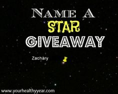 80 best giveaways sweepstakes images on pinterest giveaway name a star after a loved one its a perfect gift for every occasion fandeluxe Image collections