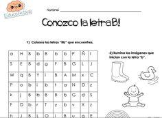 CONOZCO LA LETRA B!